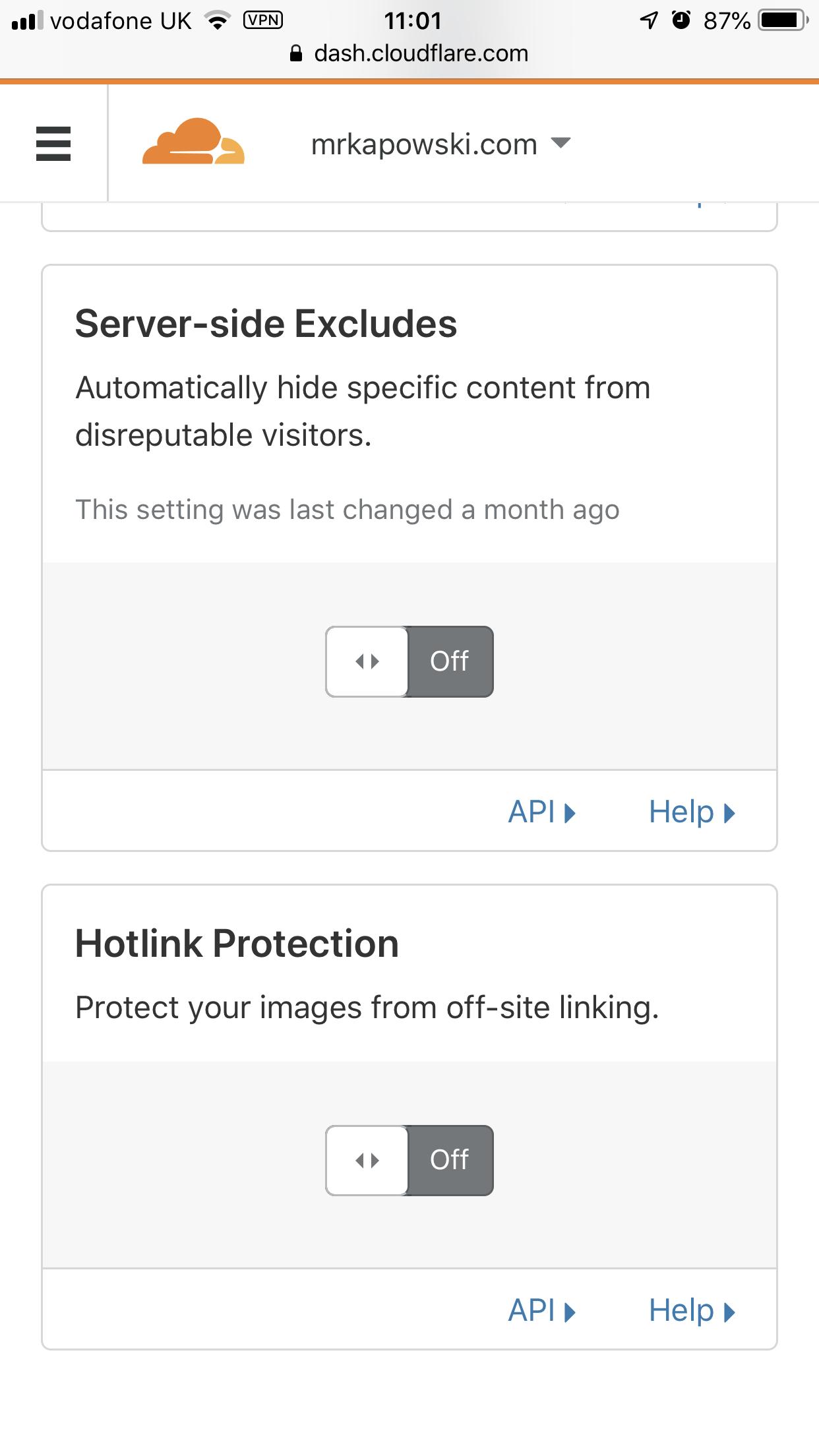 Experiences with Cloudflare blocking Bridgy | Mr Kapowski