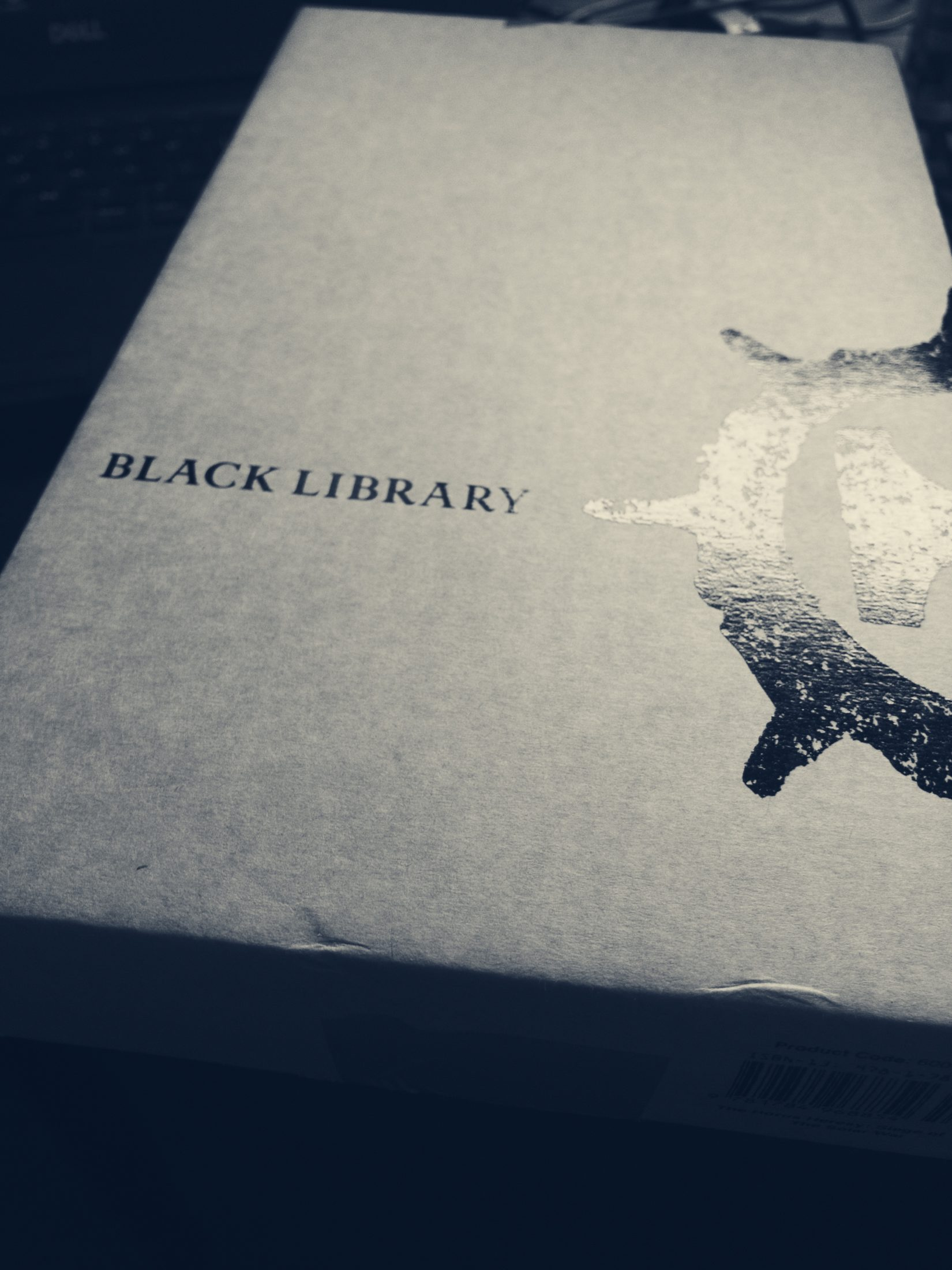 Black Library packaging