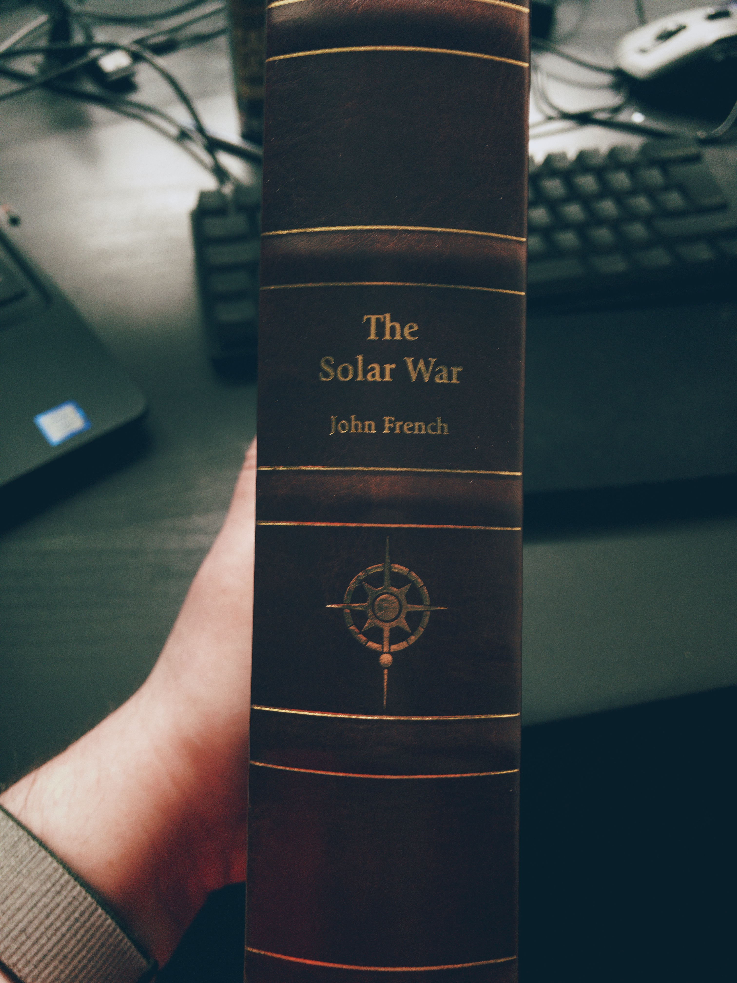 The Solar War spine
