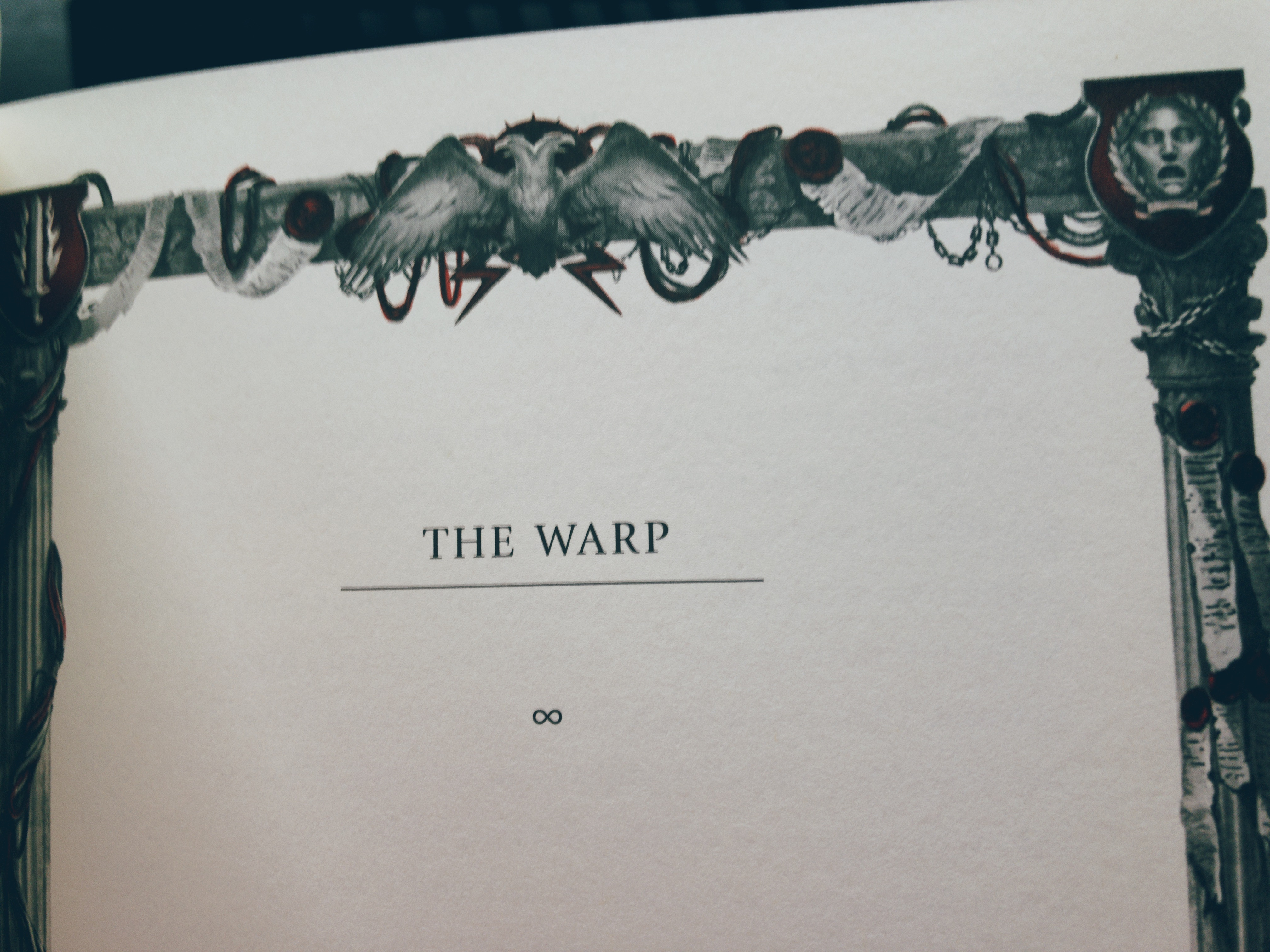 The Solar War page border