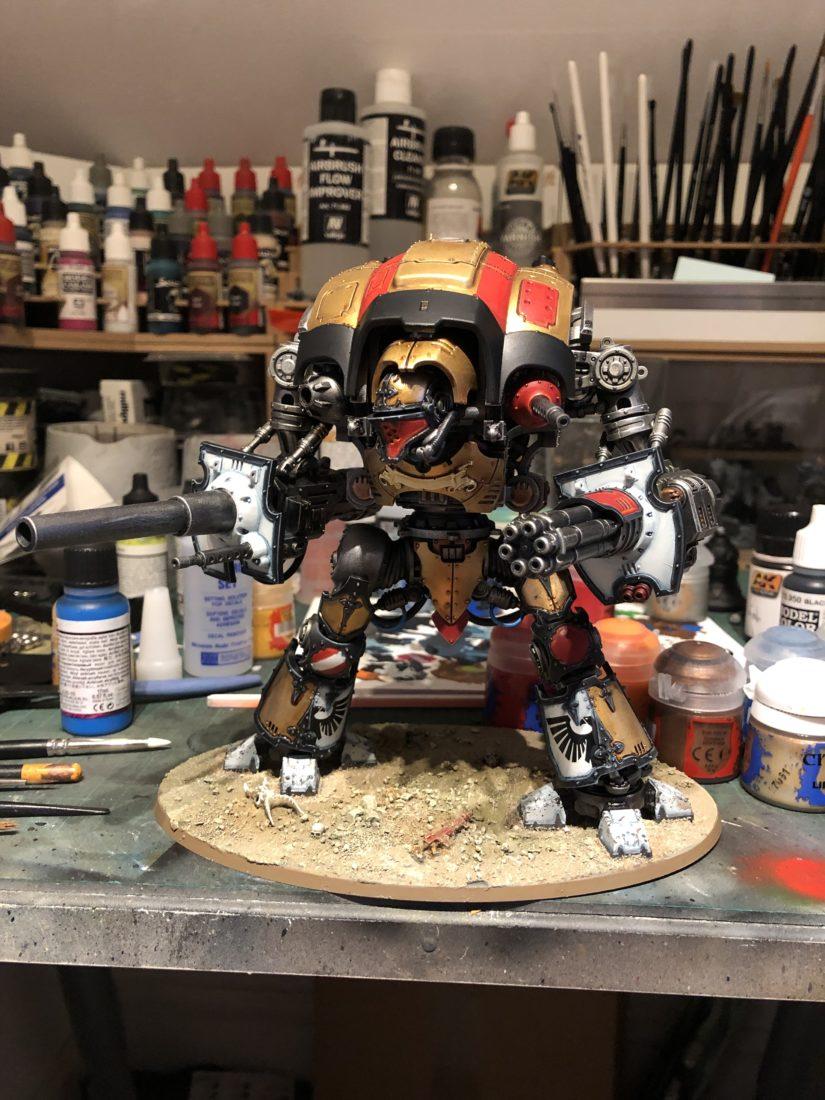 Work in progress Imperial Knight