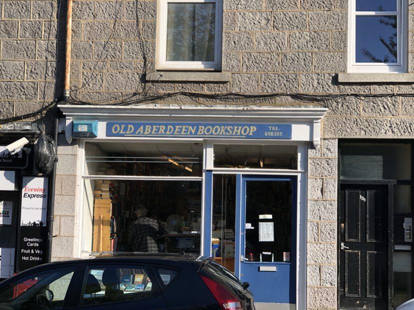 Old Aberdeen Bookshop storefront